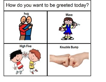 How do you want to be greeted today?