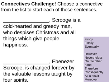 How does Scrooge change?