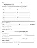 How does density change? Guided Notes Word Doc