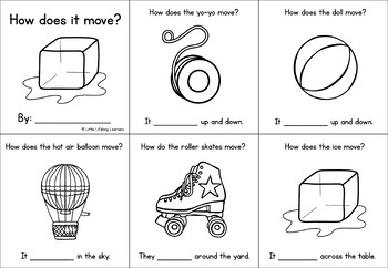 How does it move? A sight word mini book free download