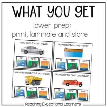 Transportation Task Card Set