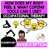 How does my body feel / coping tools for the classroom Sensory processing k12345