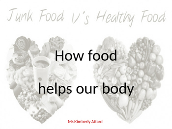 How food helps our body PPT