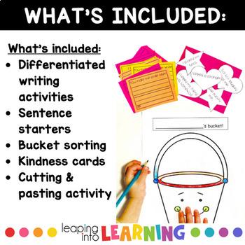 How full is your bucket- NO PREP!