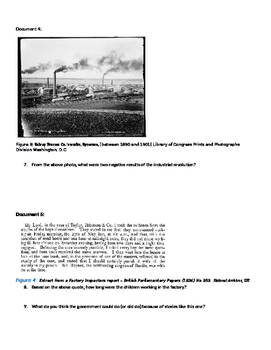 How has the Industrial Revolution Changed the World? DBQ