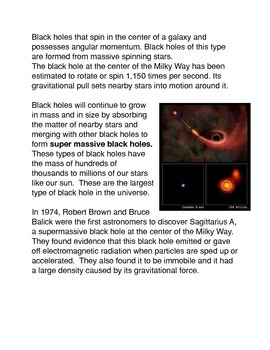 How is a Black Hole formed?