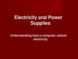 How is electricity used in a computer. What does a power s