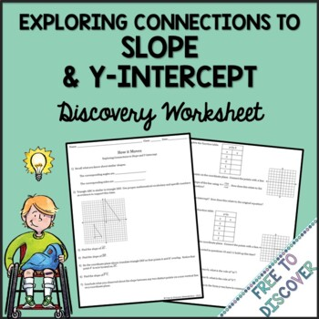 Slope and Y-Intercept Discovery Worksheet