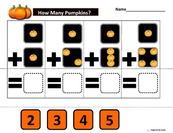 """""""How many Pumpkins?' for Autism"""