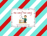 How many? This many! -Counting Worksheets