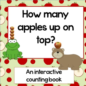 How many apples?: Interactive counting book