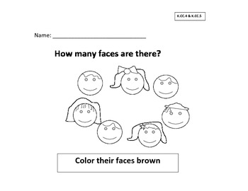 How many are there? (count and color)