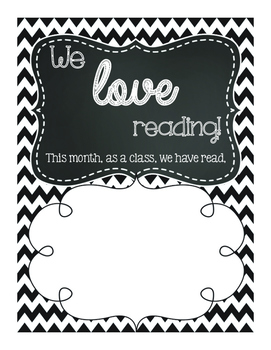 How many books have we read? Picture Frame Poster