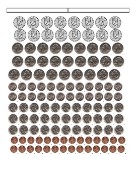 How many coins in a dollar?