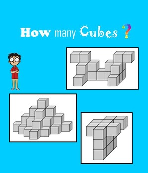 How many cubes? Geometric Puzzlers for Smart Kids
