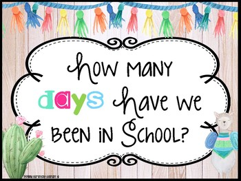 How many days have we been in school? 10 frames