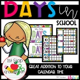Days in School - How many days have we been in school? (FREEBIE!!)