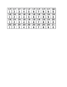 How many days of school chart Autism