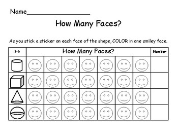 How many faces