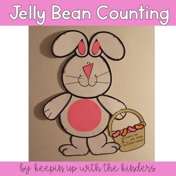 How many jelly beans are in the Easter Basket? Addition/Counting Craftivity