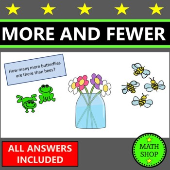 Maths - How Many More and Fewer