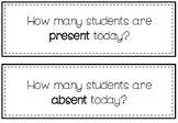 How many students are here today?