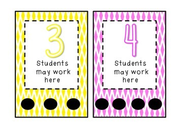 How many students can work here - centre management