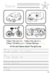 How many ticks? Vehicles Game and Worksheets for EAL / ESL / ELL
