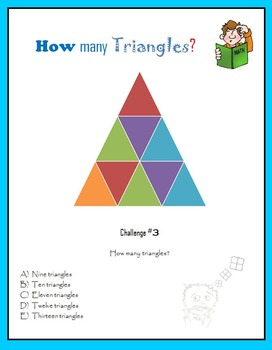 How many triangles? Geometric Puzzlers for Smart Kids