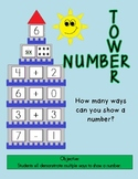 How many ways can you show a number??  Number Towers