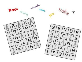 How many words can you make?