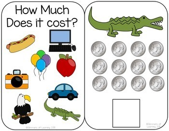 How much does it cost? Dime interactive Money book!