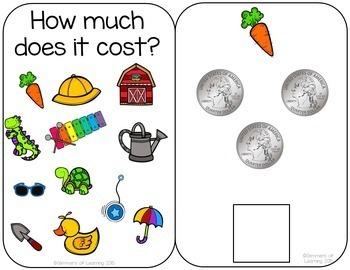 How much does it cost? Quarter Interactive Book
