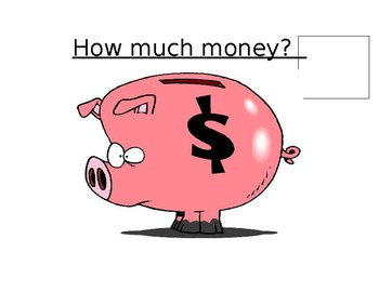 How much money? Morning meeting- Date