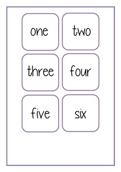 How old am I turning- number names game
