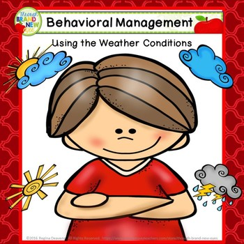 How's The Weather - Classroom Form for Behavioral Management