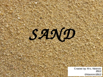 How sand travels