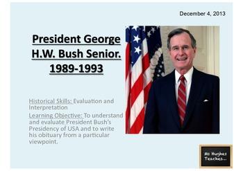 How successful was George Bush Snr. as President - Powerpo