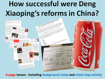 How successful were Deng Xiaoping's reforms in China? 6-page lesson pack