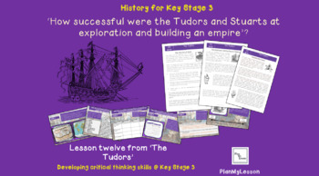 How successful were the Tudors and Stuarts at exploration and empire building?