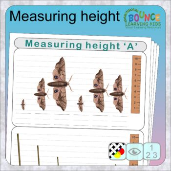 How tall is it? (14 Numeracy and Visual perception sheets