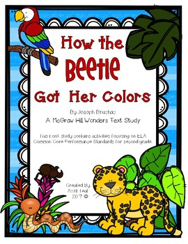 How the Beetle Got Her Colors Story Pack