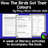 How the Birds Got Their Colours ~ A week of reading activities