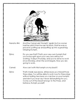 How the Camel Got His Hump Reader's Theater