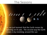 How the Earth Moves: Seasons, and Days and Nights