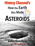 How the Earth Was Made: Asteroids Video Questions
