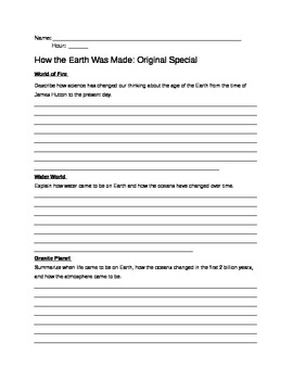 How the Earth Was Made - Original Special