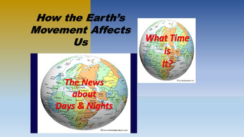 How the Earth's Movement Affects Us Bundled.