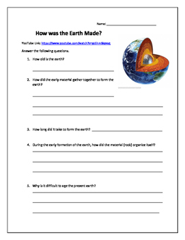 How the Earth was Made?