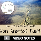 How the Earth was Made--San Andreas Fault